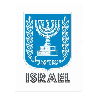 Israeli Emblem Postcard