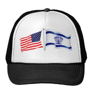 Israeli Flag/American Flag hat