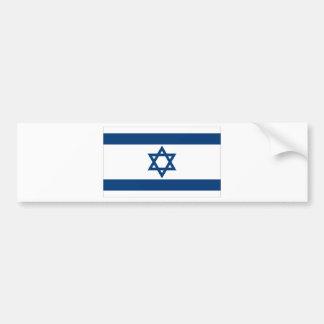 Israeli Flag Bumper Sticker
