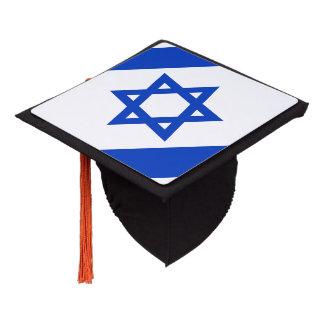 Israeli flag graduation cap topper