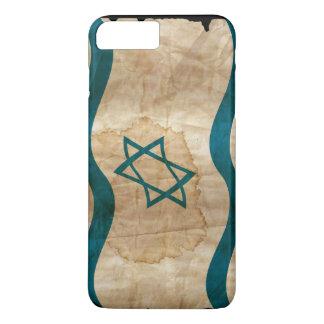 Israeli Flag in Vintage iPhone 8 Plus/7 Plus Case