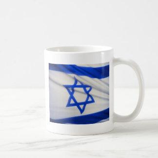 Israeli Flag Classic White Coffee Mug