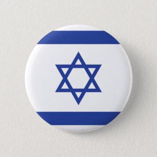 israeli Flag Pinback Button