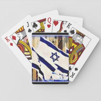 Israeli Flag Playing Cards