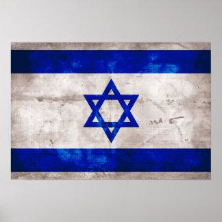 Israeli Flag Poster