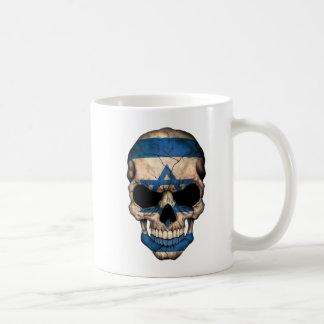 Israeli Flag Skull Coffee Mug
