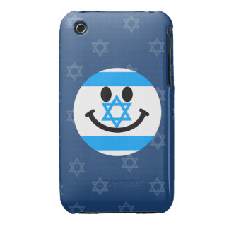 Israeli flag smiley face iPhone 3 cover