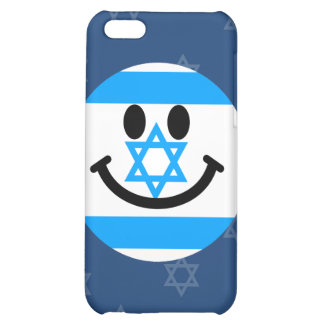 Israeli flag smiley face iPhone 5C cover