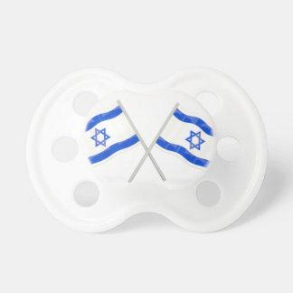 Israeli Flags Pacifier