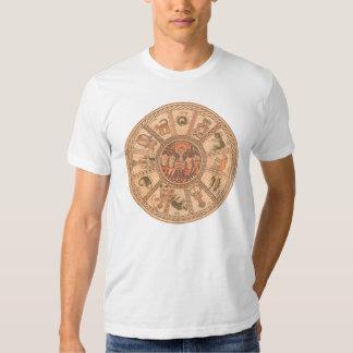 Israeli Hebrew Zodiac Wheel Shirt