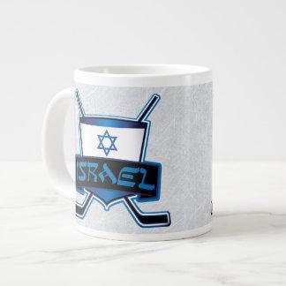 Israeli Ice Hockey Flag Mug