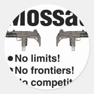 Israeli Mossad, best intelligence agency of World Sticker