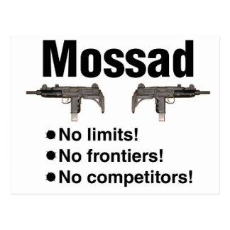 Israelí Mossad, la mejor agencia de inteligencia Postal