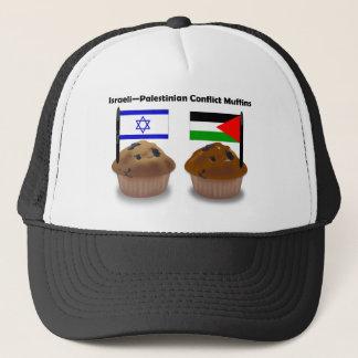 Israeli-Palestinian Conflict Muffins Trucker Hat