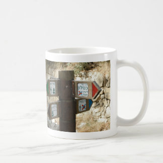 Israeli Signpost - Going My Way? Coffee Mug