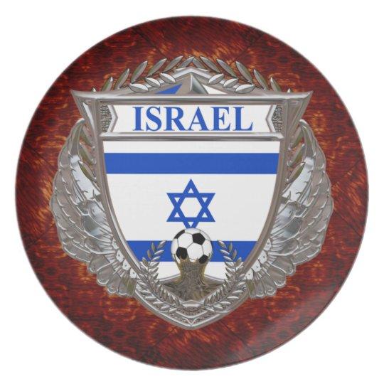 Israeli Soccer Plate