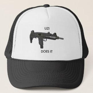 israeli-UZI-9mm, UZI, DOES IT Trucker Hat