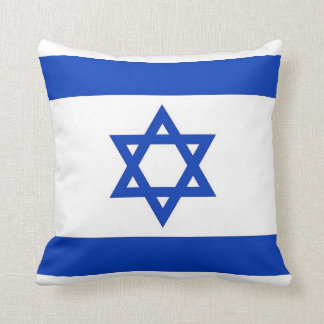 Israelian Flag on American MoJo Pillow