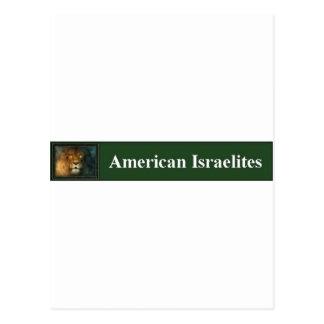 ISRAELITE AMERICANO POSTALES