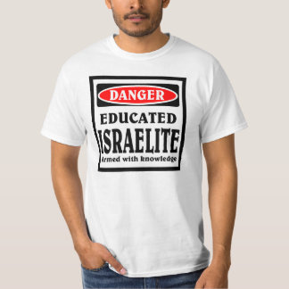 Israelite educado playera