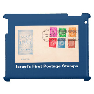 Israel's First Postage Stamps Case For The iPad 2 3 4