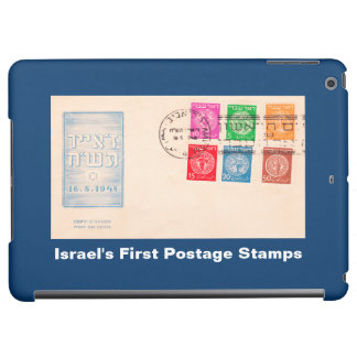 Israel's First Postage Stamps iPad Air Case