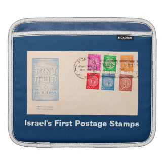 Israel's First Postage Stamps iPad Sleeve