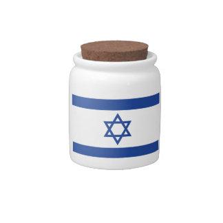 Isreal Candy Jar