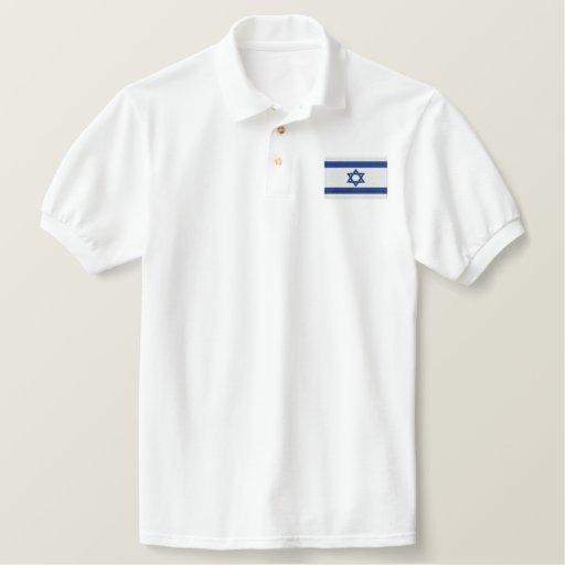 ISREAL EMBROIDERED POLO SHIRT