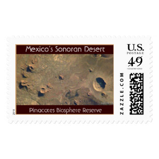 ISS009-E-5944, Pinacates Biosphere Reserve, Mex... Stamps