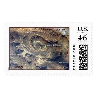 ISS015-E-5983, Upheaval Dome, Utah Stamps