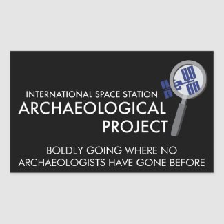 ISS Archaeological Project sticker