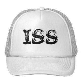 ISS b&w Trucker Hat