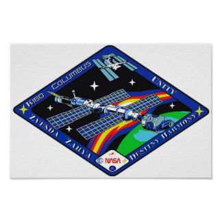 ISS Completion Patch Poster