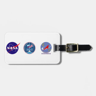 ISS Crews:  Expedition 17 Luggage Tag