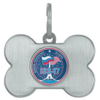 ISS Crews:  Expedition 17 Pet Name Tag