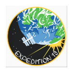 ISS Crews:  Expedition 19 Stretched Canvas Prints