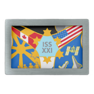 ISS Crews:  Expedition 21 Belt Buckle