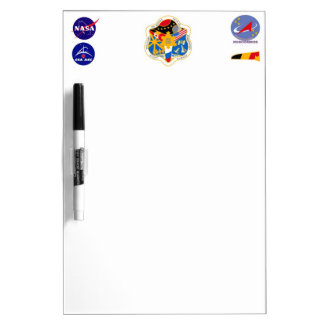 ISS Crews:  Expedition 21 Dry Erase Board
