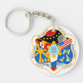 ISS Crews:  Expedition 21 Keychain