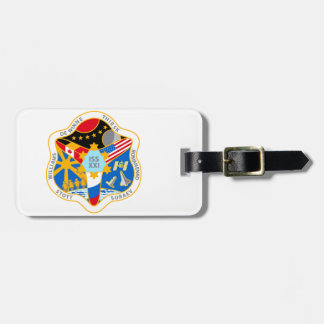 ISS Crews:  Expedition 21 Luggage Tag