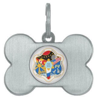 ISS Crews:  Expedition 21 Pet ID Tag