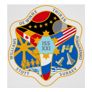 ISS Crews:  Expedition 21 Poster