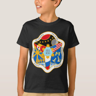 ISS Crews:  Expedition 21 T-Shirt