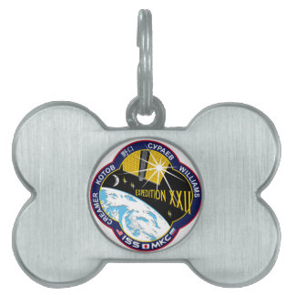 ISS Crews:  Expedition 22 Pet Name Tag