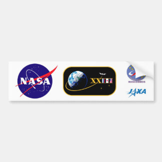 ISS Crews:  Expedition 23 Bumper Sticker