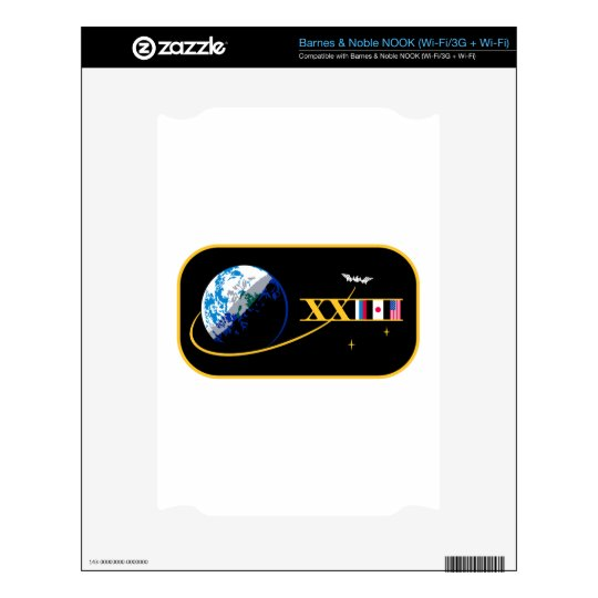 ISS Crews:  Expedition 23 Decals For NOOK