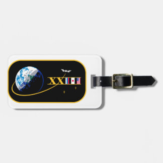 ISS Crews:  Expedition 23 Luggage Tag