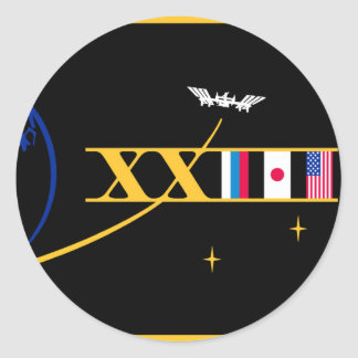 ISS Crews:  Expedition 23 Round Sticker