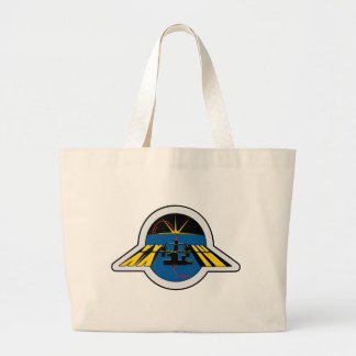 ISS Crews:  Expedition 24 Large Tote Bag